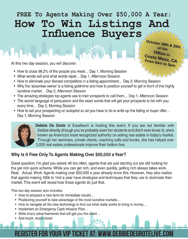 , How to Win Listings and Influence Buyers seminar, Standard Mortgage Financial Services, Inc.